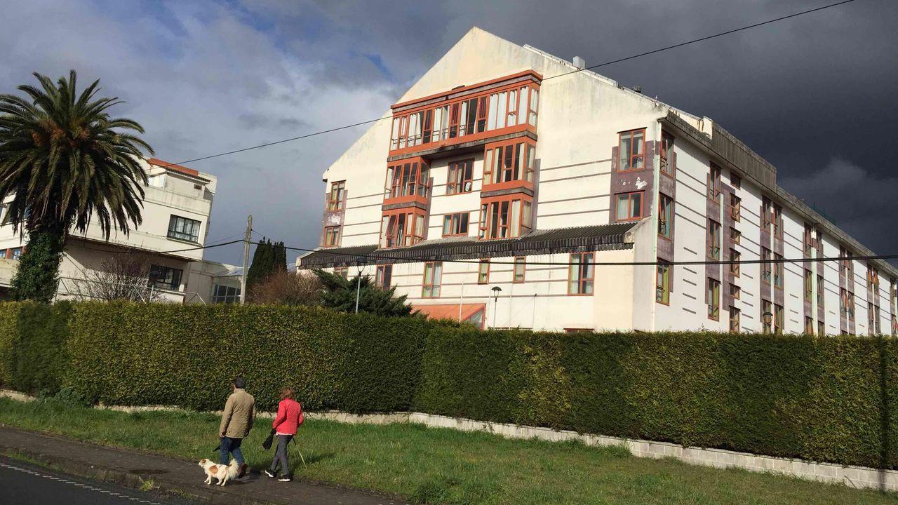 Residencia Domus Vi de Laraxe, en el municipio de Cabanas