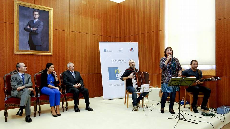 El Parlamento gallego celebra el Día da Galeguidade Empresarial