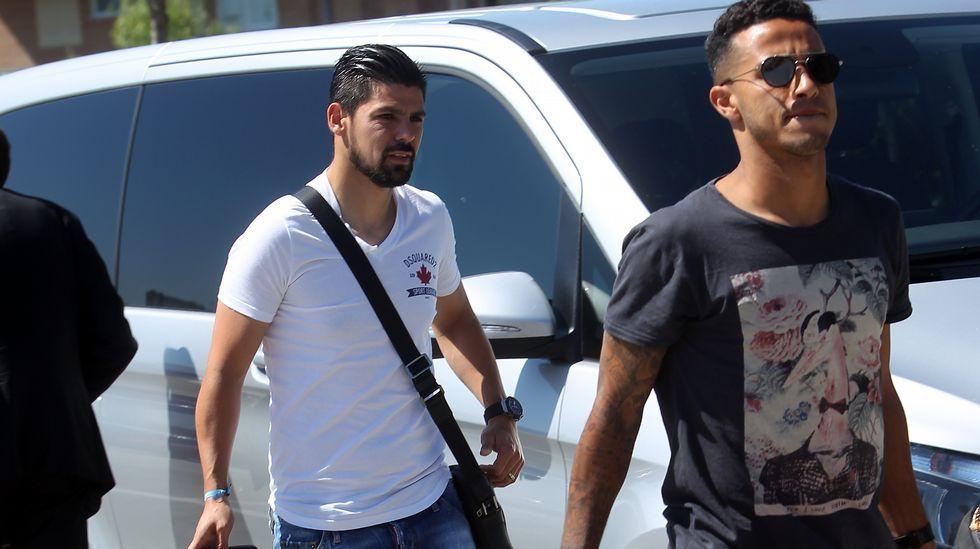 Jordi Alba carga contra la prensa: «El mal ambiente lo provocáis vosotros».Aduriz, entre Thiago y Cesc