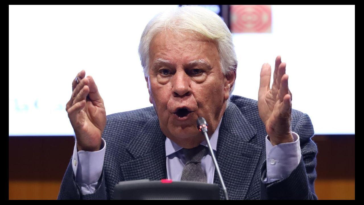 El ex secretario de Estado con Felipe González, Rafael Vera