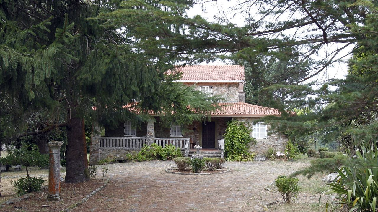 El chalé de Teo, donde se cometió el crimen, forma parte de la herencia