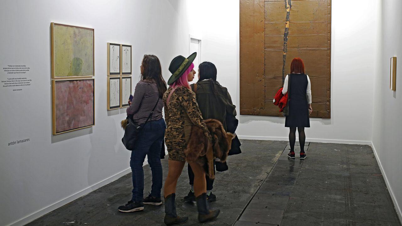 Solo Project de Antón Lamazares con obra de los ochenta en la madrileña Rafael Pérez Hernando