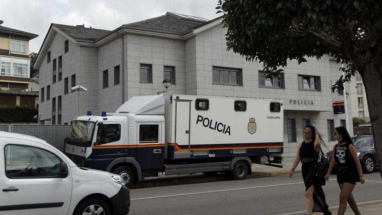 Inauguración del edificio de la Seguridad Spcial, en Viveiro.Este jueves hay 700 mariñanos citados para ser vacunados contra el covid en el Hospital Público da Mariña