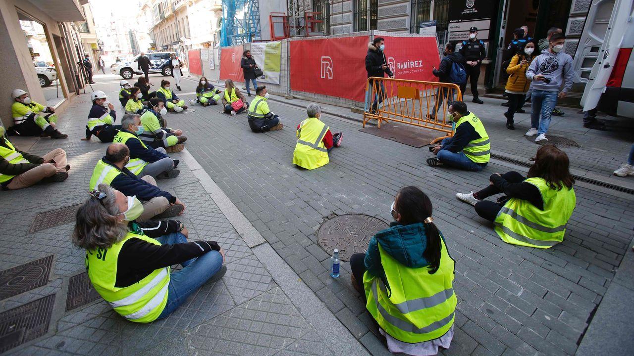 Jornada de movilización desde Ence a Pontevedra