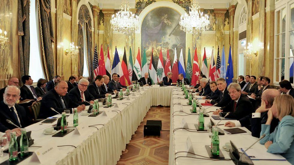 Cumbre internacional sobre Siria en Viena