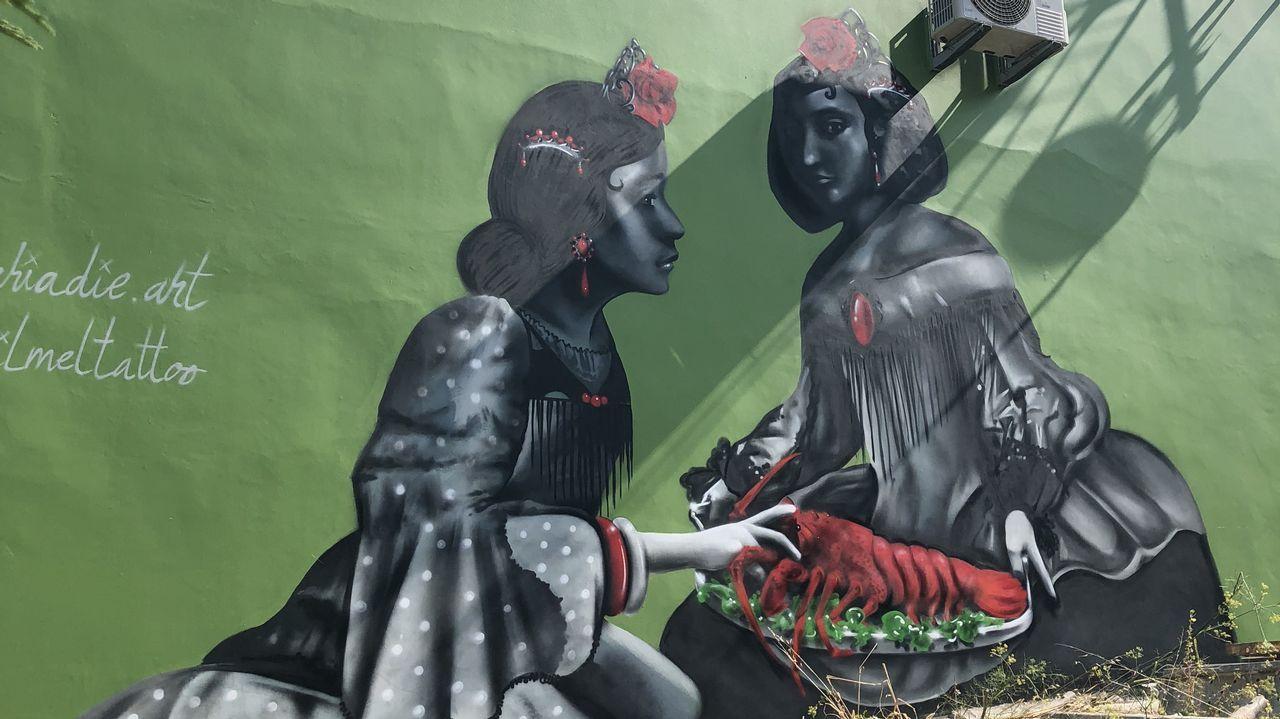 Los grandes murales, principales novedades en Canido