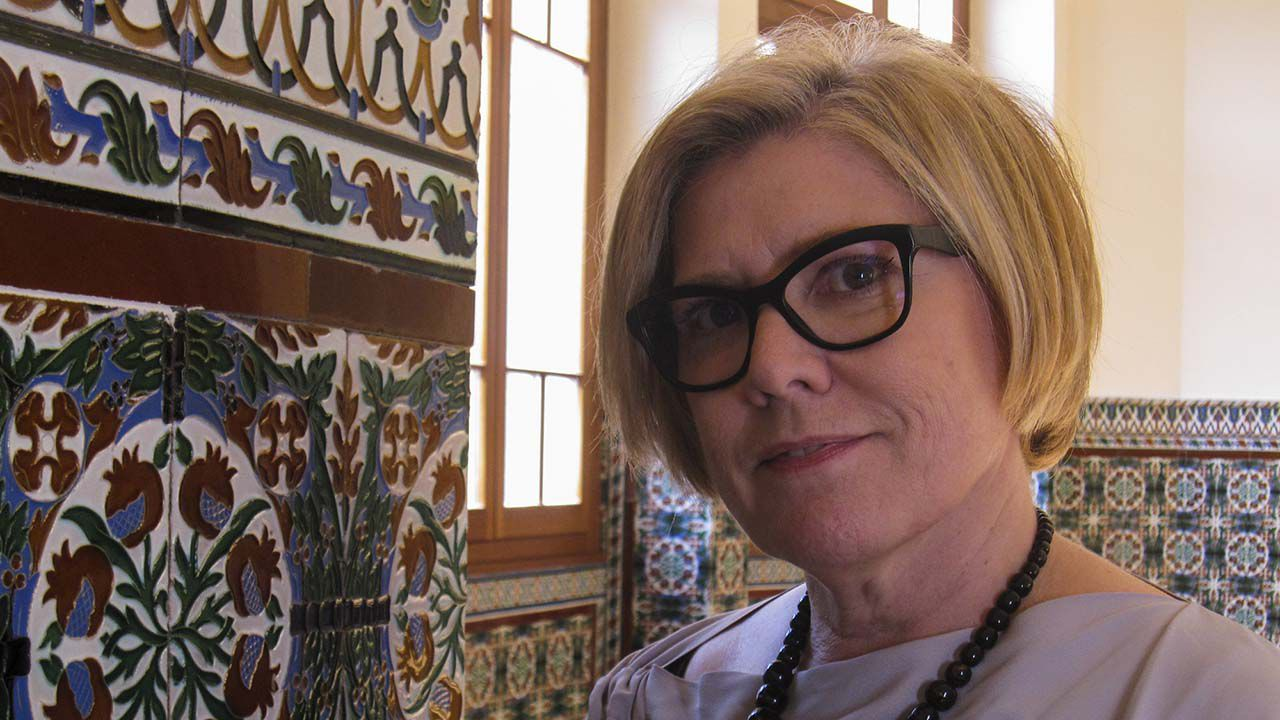 La profesora Carolina Martínez Moreno, catedrática de Derecho del Trabajo y Seguridad Social en la Universidad de Oviedo