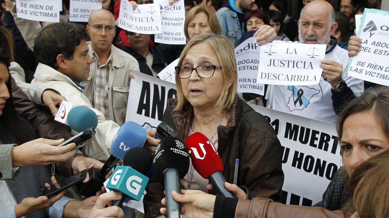 Gómez-Limón pide el voto para el BNG.Parque de Belvís, en Santiago