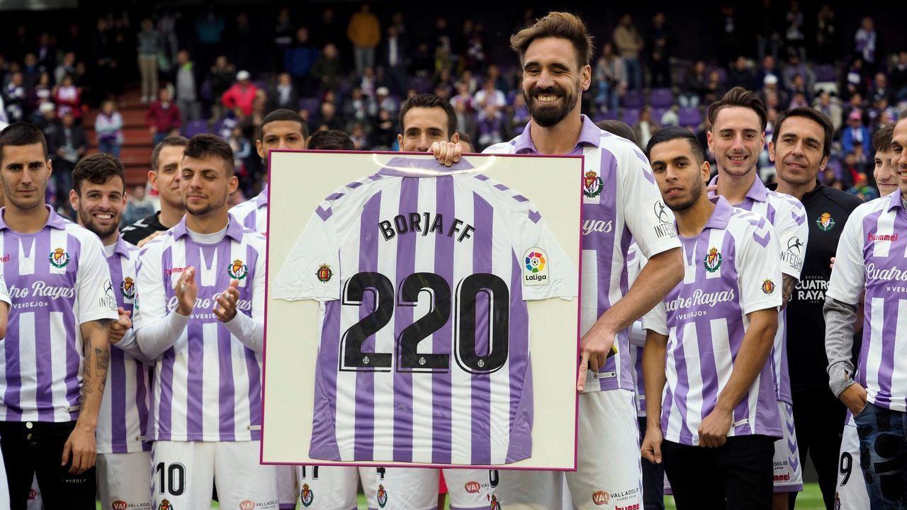Elche - Deportivo, las mejores imágenes.Borja Fernández se retiró del fútbol hace solo unos días, al final de esta temporada en Primera