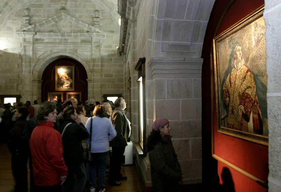 El cuadro «Adoración de los Reyes» se guardó durante siglos en el Colegio de la Compañía, en cuya iglesia se conserva una copia cedida por el museo alemán al que se vendió en su día la obra original