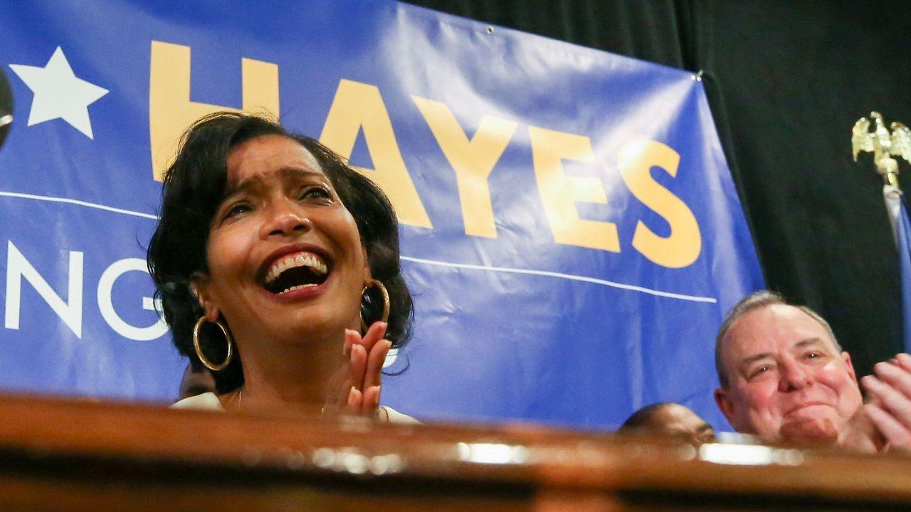 La congresiste democrata Jahana Hayes