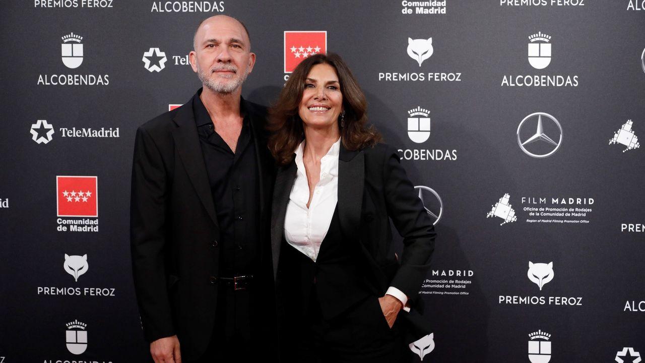Dario Grandinetti y Pastora Vega