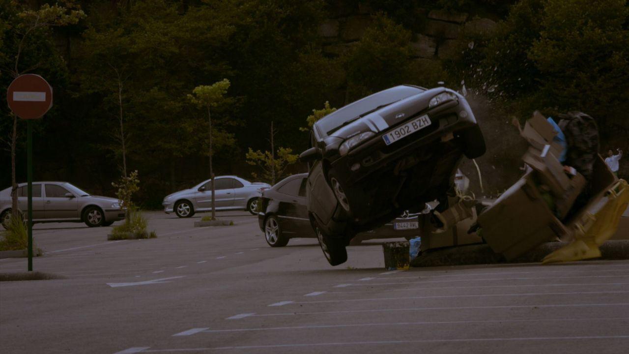 Espectacular carrera en uno de los episodios de la serie