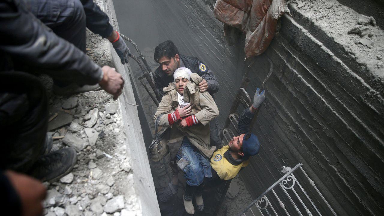 La tragedia de Guta suma 500 muertos