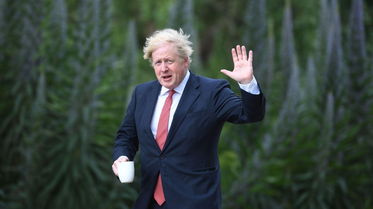 Las cifras han generado enormes dudas respecto al Gobierno de Johnson desde el inicio de la pandemia