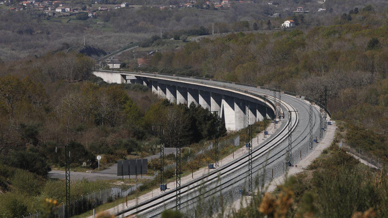 El Gobierno central reactivó con dificultades las obras del AVE