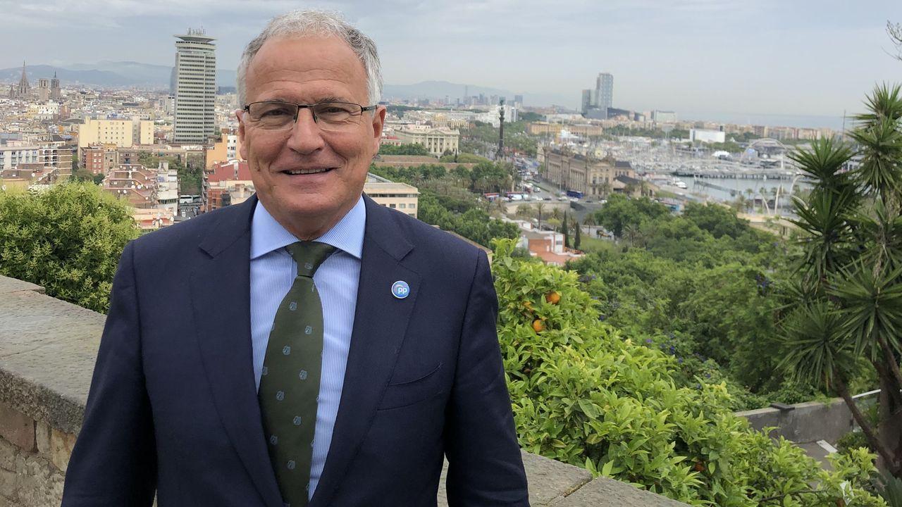 Josep Bou, empresario y concejal del PP en el Ayuntamiento de Barcelona