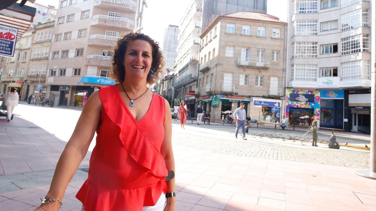 Dulcinea Aguín, presidenta de la Asociación de Vivendas Turísticas de Galicia (Aviturga)