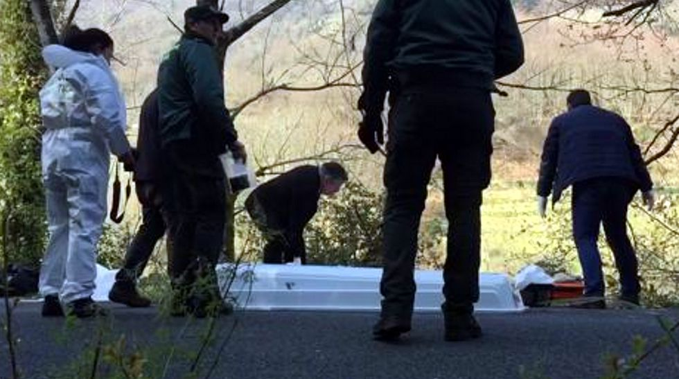 Aparece un cuerpo flotando en Belesar.Jordi Sobrado, en una foto difundida por la familia