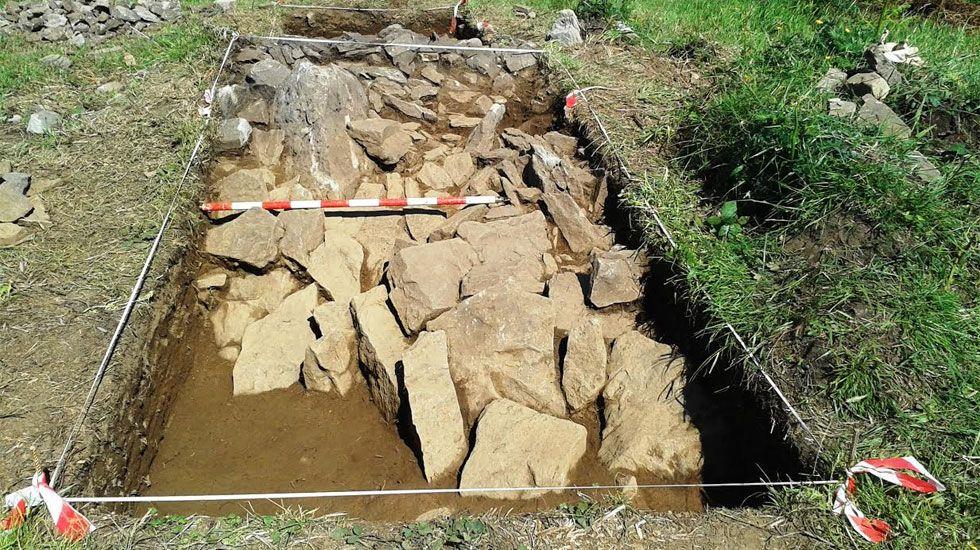Una «joya arqueológica» del Neolítico en la campa de L'Españal.Felipe Piedra