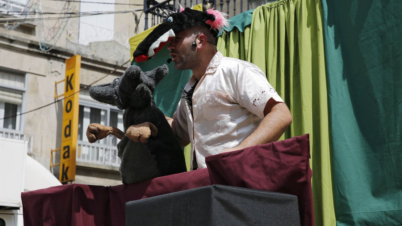Trécola Teatro dirige un taller infantil en Augas Férreas