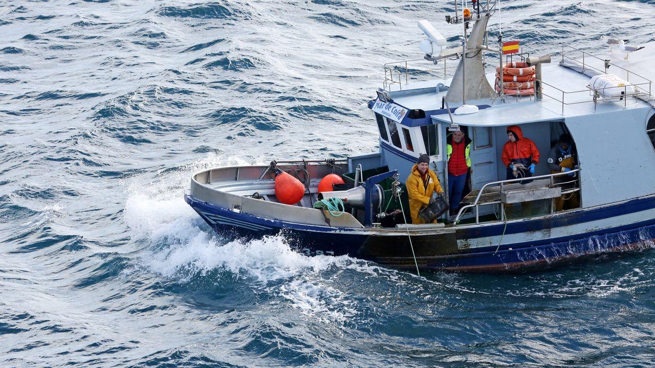 Uno de los pesqueros españoles que faenan en Gran Sol, en una foto de archivo