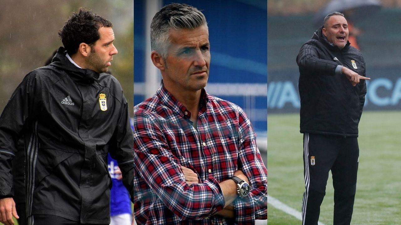 Álex Díaz, Roberto Suárez y Mario Prieto