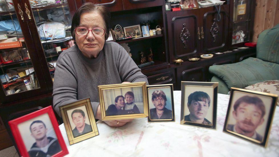La madre que vio morir a seis hijos.Lagarder Danciu