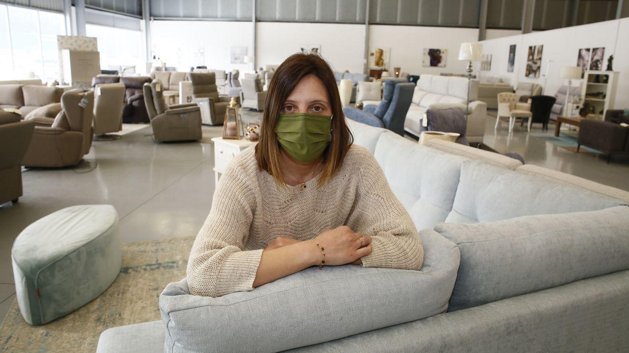 Yolanda García, de Muebles Almayo
